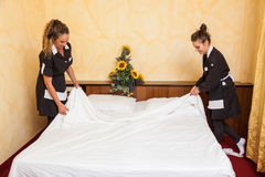 Chamber Maids Stock Photography