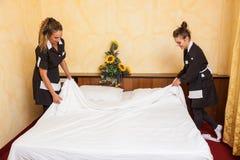Chamber Maids Stock Photography