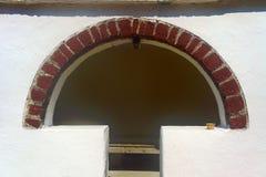 Chamber in the monastery on the island of Corfu Stock Photo