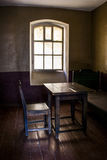 Chamber for prisoners of the fortress Shlisselburg Stock Image