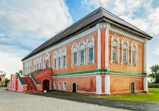 Chamber of stroganov in usolye. Historic building Chamber of Stroganov in Usolye. Russia Royalty Free Stock Photography