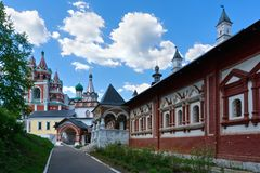 Chamber of tsarina Stock Images
