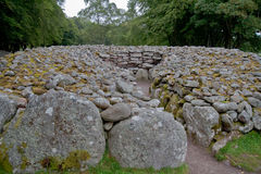 Chambered cairn Royalty Free Stock Photography