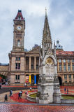 Chamberlain Square in Birmingham Royalty Free Stock Image