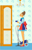 Chambermaid Stock Images