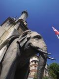 chamberry elefant Fotografering för Bildbyråer
