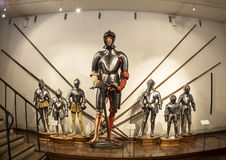 Chambers of Armour at Ambras Castle ,Innsbruck Stock Photos