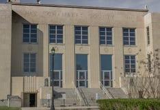 Chambers County domstolsbyggnad i Anahuac Texas Royaltyfri Foto