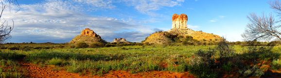 Chambers Pillar, Northern Territory, Australia Royalty Free Stock Images