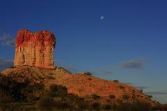 Chambers Pillar, Northern Territory, Australia stock photos