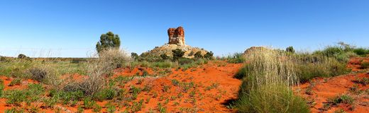 Chambers Pillar, Northern Territory, Australia Royalty Free Stock Photos