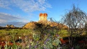 Chambers Pillar, Nothern Territory, Australia Stock Photos