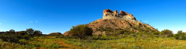Chambers Pillar, Nothern Territory, Australia royalty free stock photos