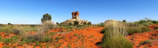 Chambers Pillar, Nothern Territory, Australia Stock Photography
