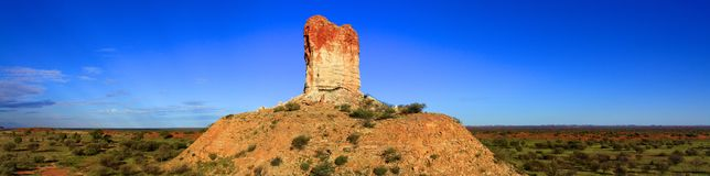 Chambers Pillar, Nothern Territory, Australia Stock Photo