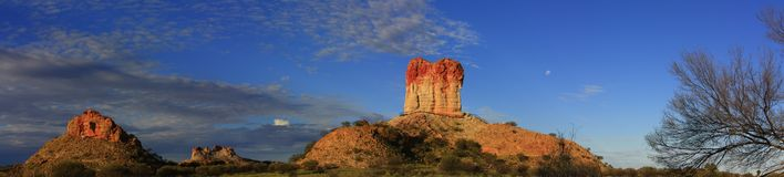 Chambers Pillar, Nothern Territory, Australia Royalty Free Stock Photography