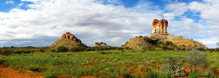 Chambers Pillar, Nothern Territory, Australia Stock Photos