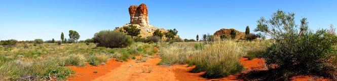 Chambers Pillar, Nothern Territory, Australia Stock Photo