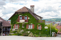 The chambers  for rent in old part of Annecy Stock Photography