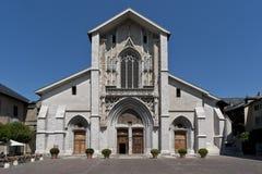 Chambery katedra Zdjęcia Stock