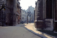 Chambery old city, Savoy, France Stock Photo
