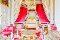 ChamberyApartments av kejsarinnan i storslagna Trianon Chateau de Ver Arkivbild