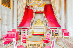 ChamberyApartments of Empress in Grand Trianon. Chateau de Ver Stock Photography