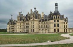 Chambord城堡。 法国。 库存照片