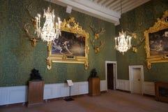 Chambord城堡的狩猎室 免版税图库摄影