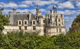 Chambord城堡 免版税库存图片