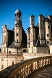 Chambord城堡 免版税库存照片
