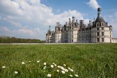 Chambord城堡  免版税图库摄影