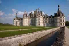 Chambord城堡  图库摄影