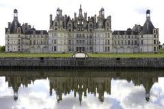 chambord大别墅de法国Loire Valley 免版税库存图片