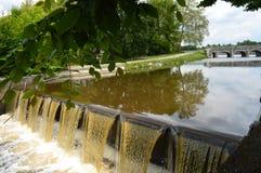 Chambord,在城堡附近 库存图片
