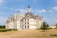 Chambord,法国, 1519 - 1547年城堡  科教文组织世界遗产站点 图库摄影