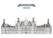 Chambord, Γαλλία απεικόνιση αποθεμάτων