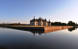 chambord Франция замока Стоковая Фотография RF