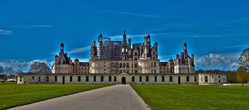 Chambord. Castle of Chambord in Loire, France Stock Photos