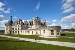 Chambord. Castle of Chambord in Loire, France Royalty Free Stock Images