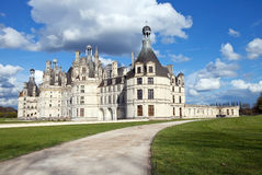 Chambord. Castle of Chambord in Loire, France Royalty Free Stock Photos