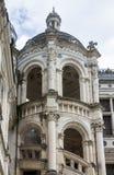 城堡chambord法国 库存照片