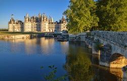 Chambord Castelo do Loire Valley Fotografia de Stock Royalty Free
