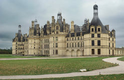 Chambord Castle. Γαλλία. Στοκ Φωτογραφίες