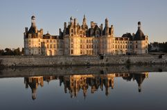 Chambord Castle Stock Photo