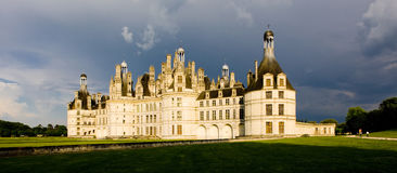 Chambord Castle Royalty Free Stock Images
