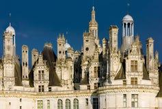 Chambord Castle. 's detail, Loir-et-Cher, Centre, France stock images