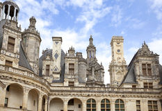 Chambord castle Stock Photos