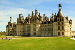 Chambord Castle Stock Photography