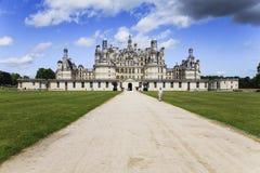 Chambord castle Royalty Free Stock Image